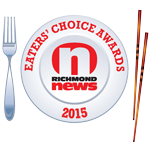 Richmond News Eaters' Choice Awards Best Italian Restaurant in Richmond Paesano's